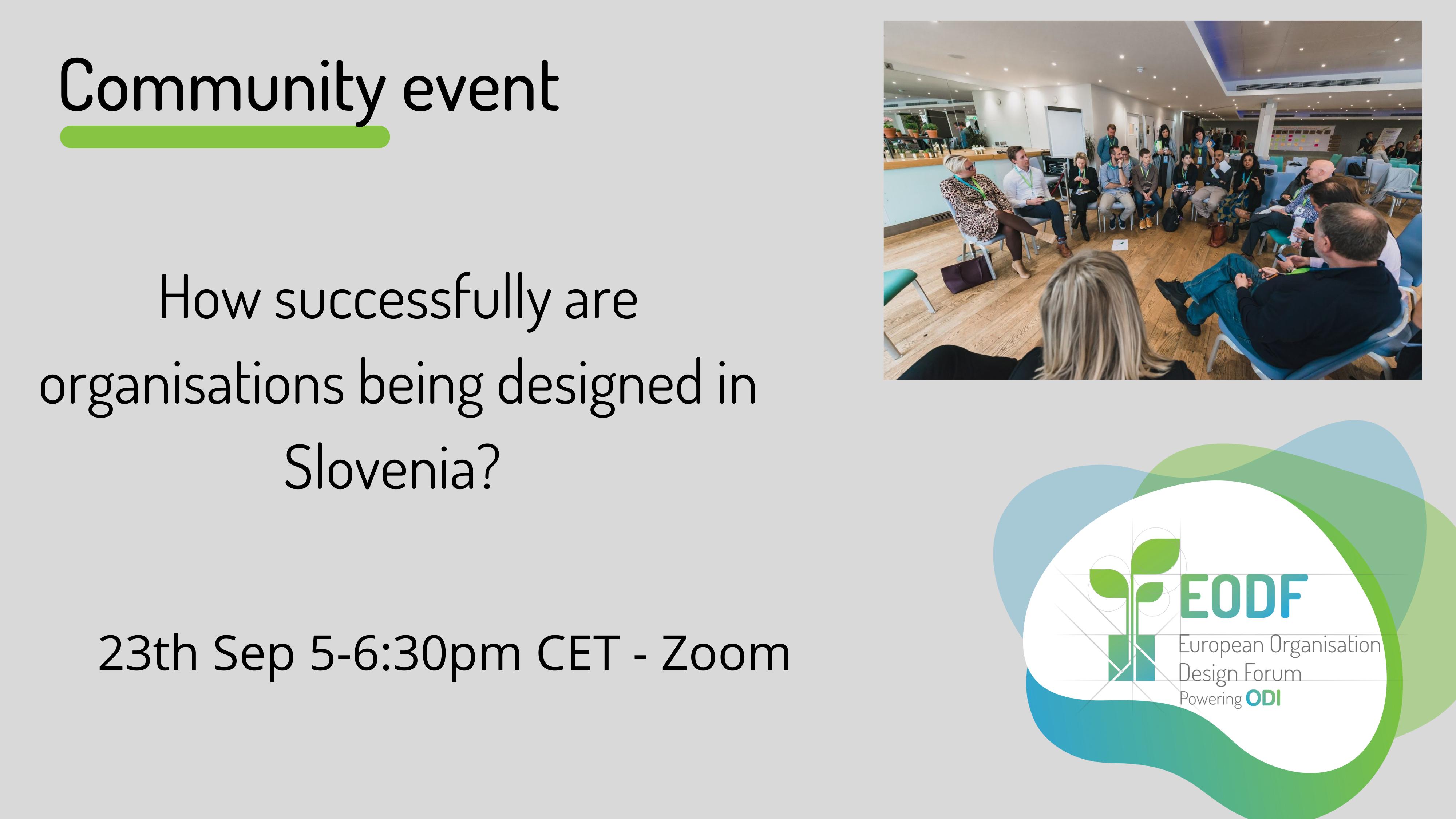 Slovenia Community Event